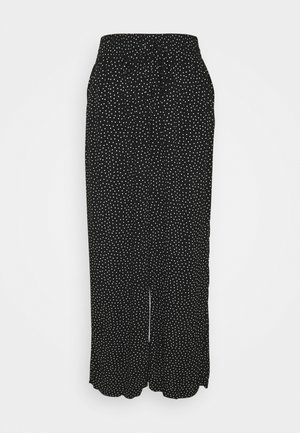 DISA TROUSERS - Trousers - black/white