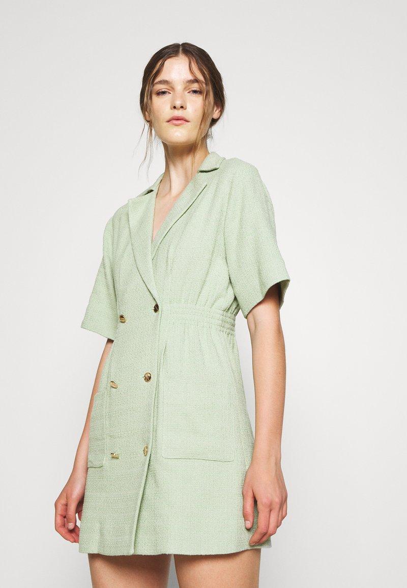sandro - Day dress - vert amande