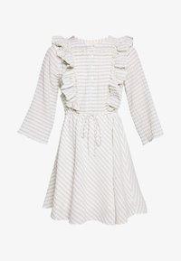 DOLCI MINI DRESS - Korte jurk - blue/natural stripe