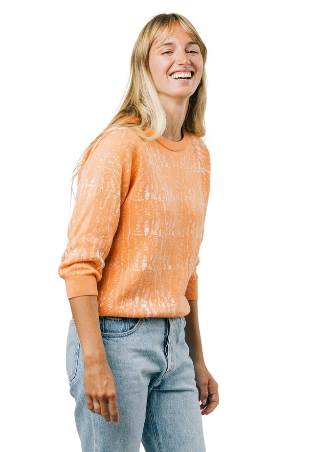 CAMOU MANDARINE - Sweatshirt - orange