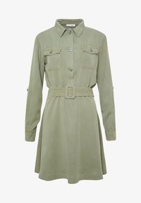 Rich & Royal - DRESS WITH BELT - Skjortekjole - safari green - 5