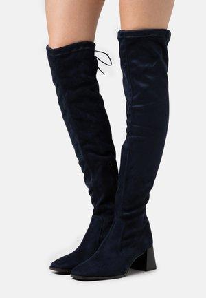 Stivali sopra il ginocchio - blu