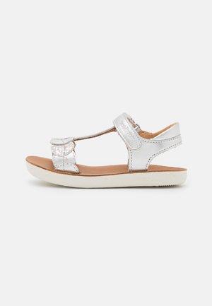 GOA DOTS - Sandals - silver/multicolor