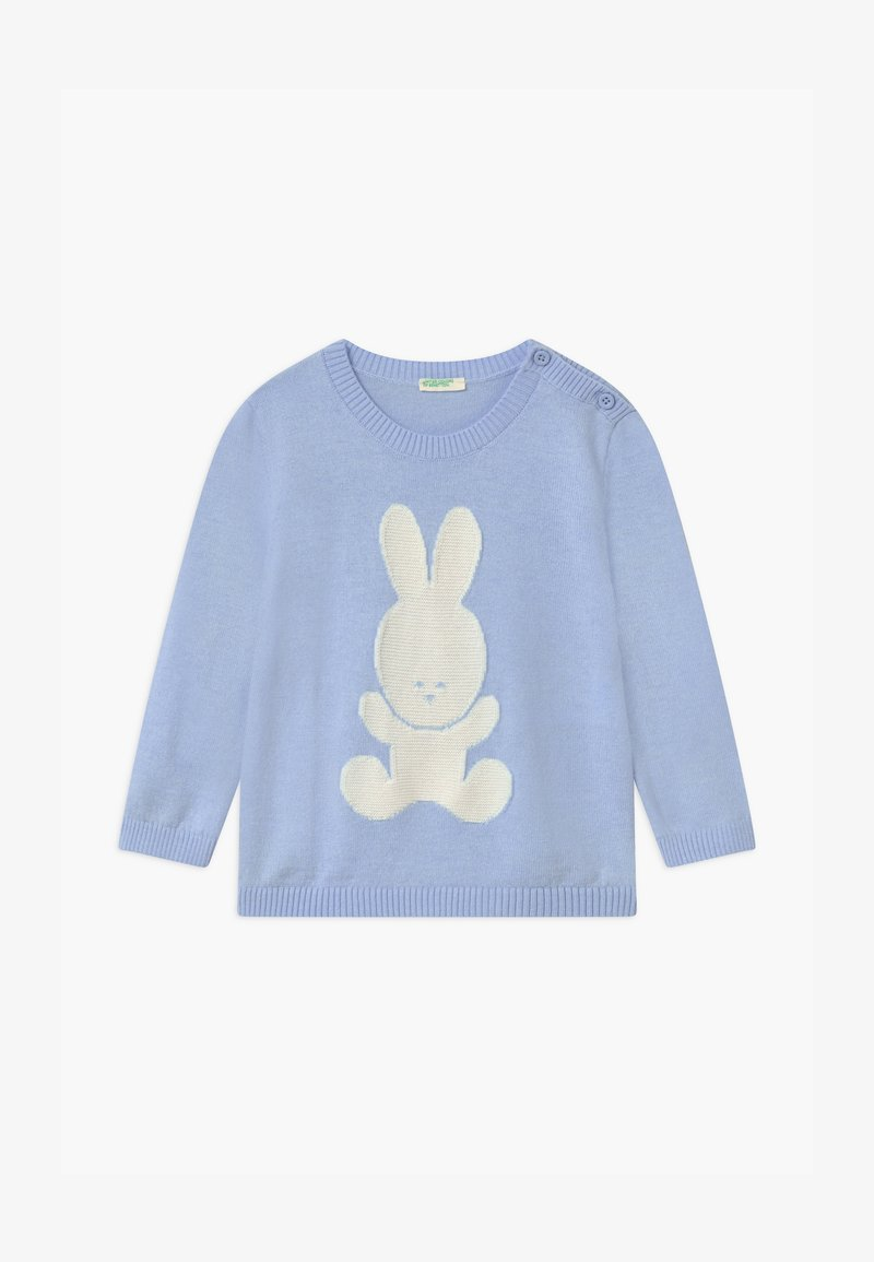 Benetton - UNISEX - Jumper - light blue