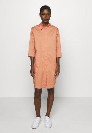 Shirt dress - smooth rosewood