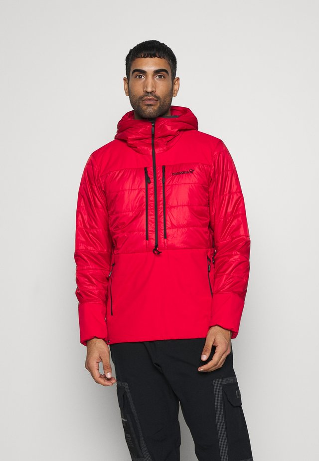 LOFOTEN PRIMALOFT - Winter jacket - red