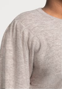 Pieces Curve - PCPAM O NECK - Jumper - warm taupe - 4