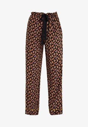 VERONICA - Trousers - black/multi
