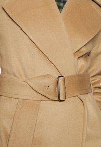 GANT - BLEND BELTED COAT - Classic coat - warm khaki - 5