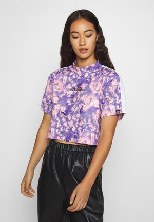 YANETA - Print T-shirt - purple