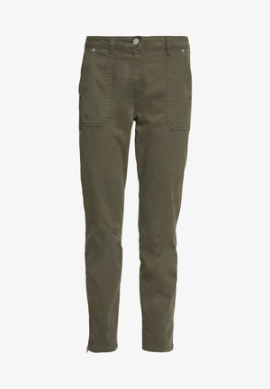 Jeans slim fit - army green
