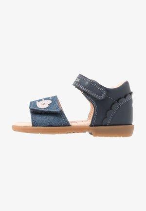 VERRED - Sandals - navy