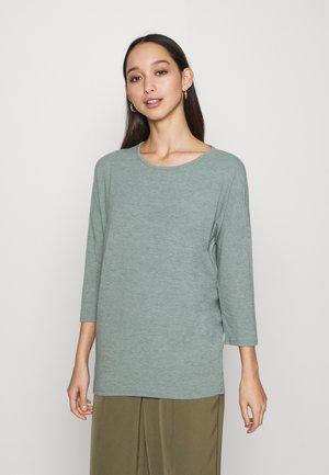 ONLGLAMOUR - T-shirt à manches longues - chinois green melange