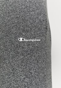 Champion - STRAIGHT HEM PANTS - Verryttelyhousut - grey dark melange - 4
