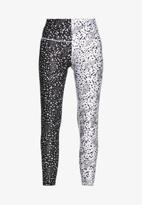 H2O Fagerholt - NEW LONG TIGHT TIGHTS - Leggings - Trousers - black/off white seashell - 3