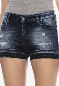 Cipo & Baxx - Denim shorts - darkblue - 0
