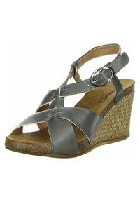Inblu - Wedge sandals - anthrazit - 2