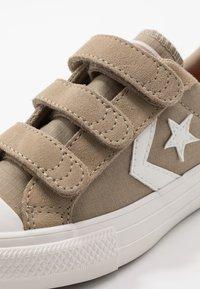 Converse - STAR PLAYER - Trainers - khaki/vintage white - 2