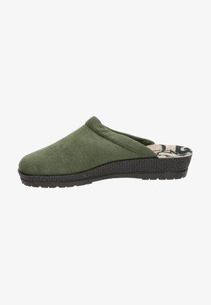 Pantoffels - groen