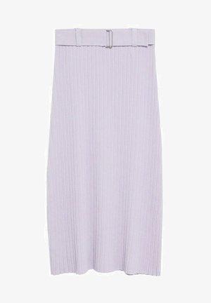 KATYA - A-line skirt - lys/pastell lilla