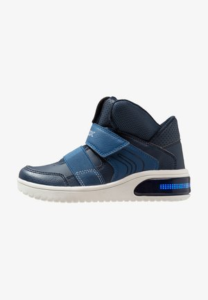 XLED - High-top trainers - navy