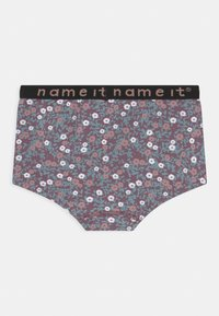Name it - NKFHIPSTER 2 PACK - Briefs - black plum - 1