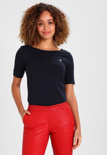 SHORT SLEEVE BOAT NECK  - Basic T-shirt - manic midnight
