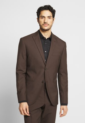 PLAIN SUIT - Oblek - brown