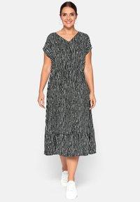 Sheego - Day dress - black - 0