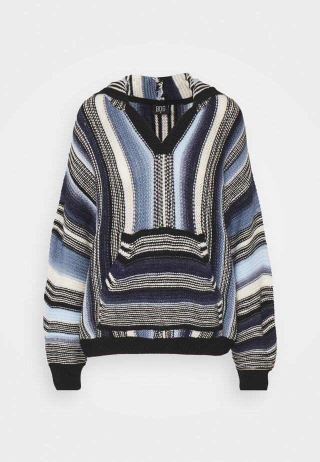 BAJA HOODIE - Sweter - blue
