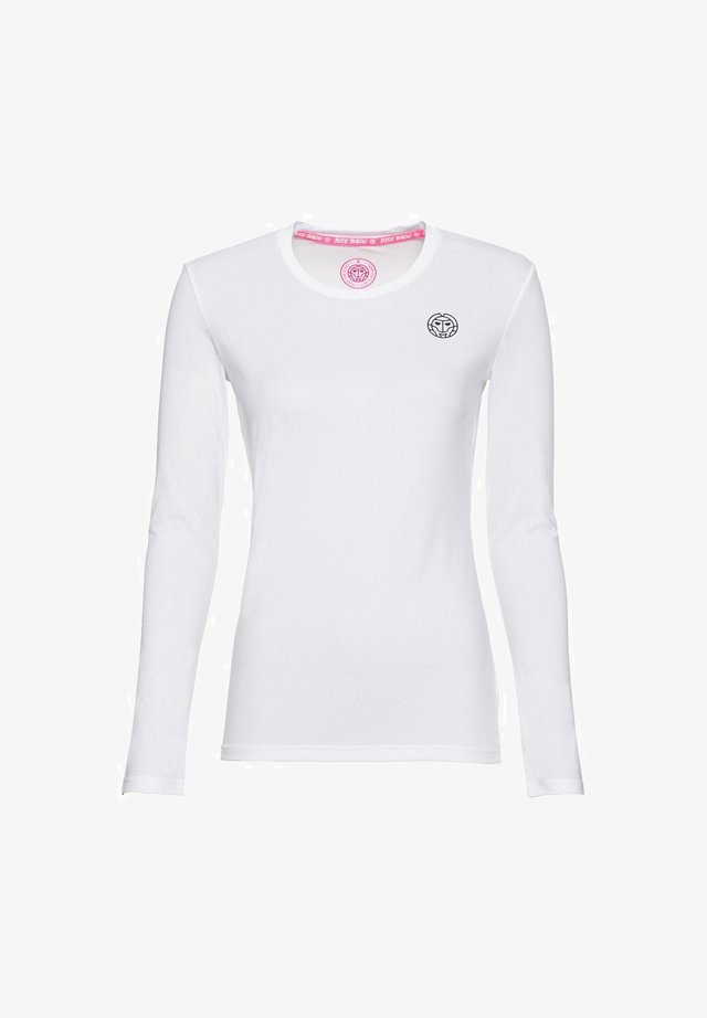 MINA - Long sleeved top - white