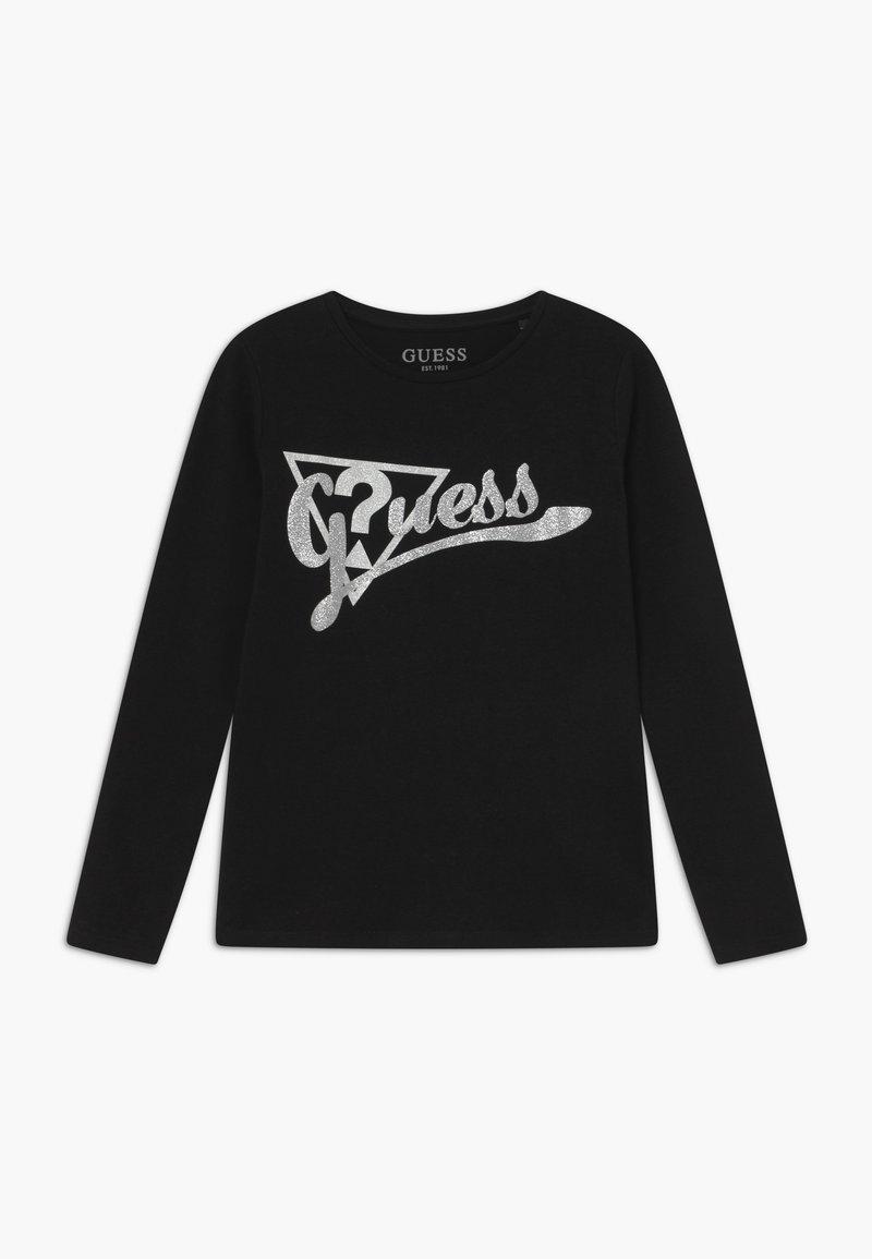 Guess - JUNIOR - T-shirt à manches longues - jet black