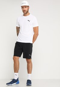 Puma - ACTIVE TEE - Basic T-shirt - white - 1