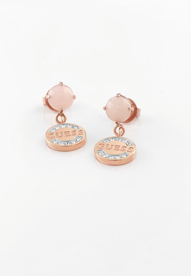 "BOUCLES D'OREILLES ""NATURE GIRL"" - Earrings - rose or"