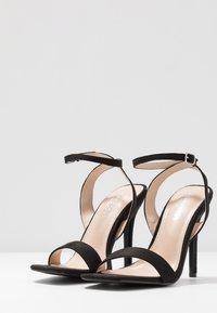 Glamorous Wide Fit - High heeled sandals - black - 4