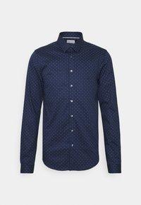 Calvin Klein Tailored - NATURAL EXTRA SLIM - Formal shirt - navy - 0