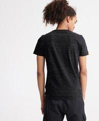Superdry - VINTAGE  - T-shirt print - vast black space dye - 2