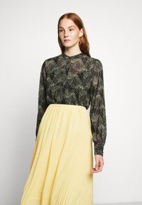 Bruuns Bazaar - CECILIE SKIRT - Áčková sukně - sunshine - 3