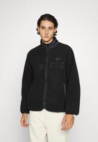 adidas Originals - ZIP THRU - Fleece jacket - black - 0