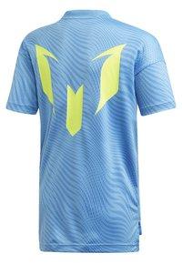 adidas Performance - MESSI T-SHIRT - T-shirt imprimé - blue - 1