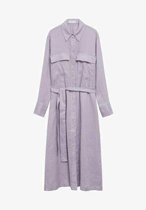 Sukienka koszulowa - helllila/pastelllila