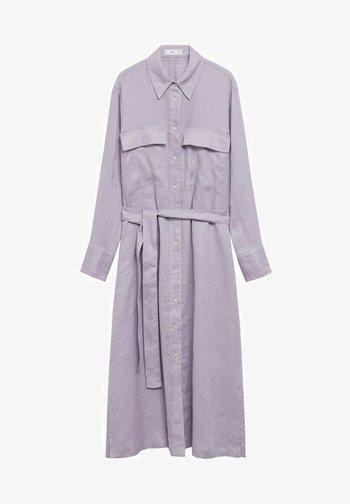 Shirt dress - helllila/pastelllila