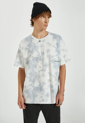 T-shirt print - light blue