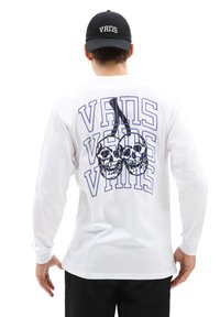 Vans - MN NEW VARSITY LS - Long sleeved top - white - 2