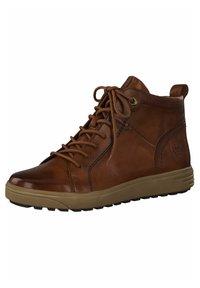 Jana - SNEAKER - Sneakers high - dk cognac napp - 3