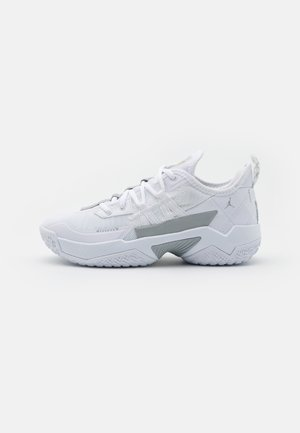 ONE TAKE II UNISEX - Basketball shoes - white/wolf grey/metallic silver