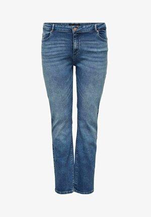 Straight leg jeans - light medium blue denim