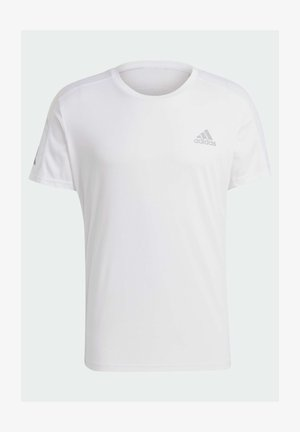 OWN THE RUN - T-shirt z nadrukiem - white