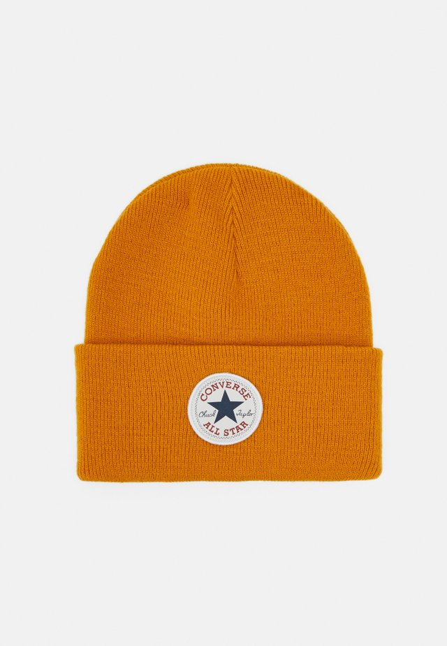 CHUCK PATCH TALL BEANIE - Čepice - saffron yellow