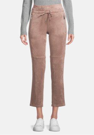 TUNNELZUG - Pantalon classique - braun
